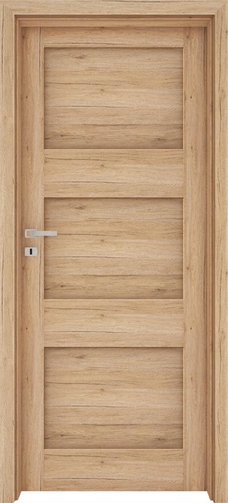 Drzwi FOSSANO 1 - Dąb naturo B587