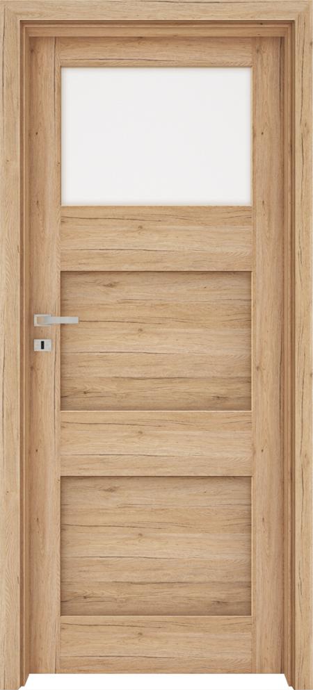 Drzwi FOSSANO 2 - Dąb naturo B587