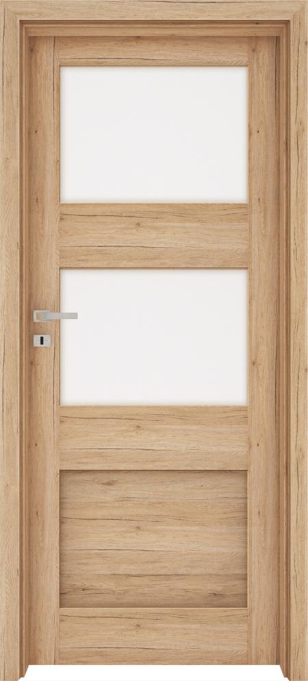 Drzwi FOSSANO 4 - Dąb naturo B587