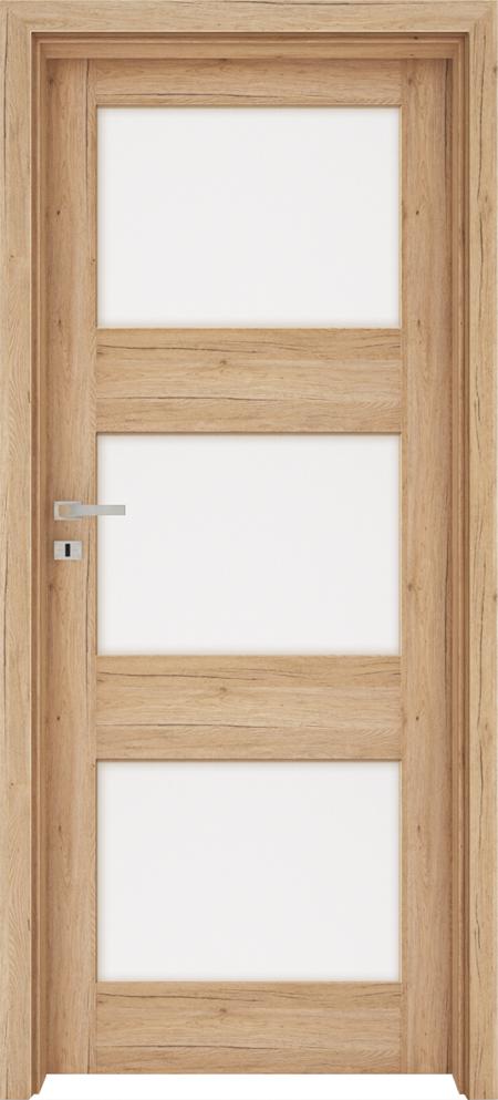 Drzwi FOSSANO 6 - Dąb naturo B587