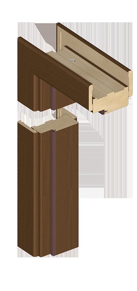 Ościeżnica blokowa OB3 - z listwą opaskową LO1 (60 mm)