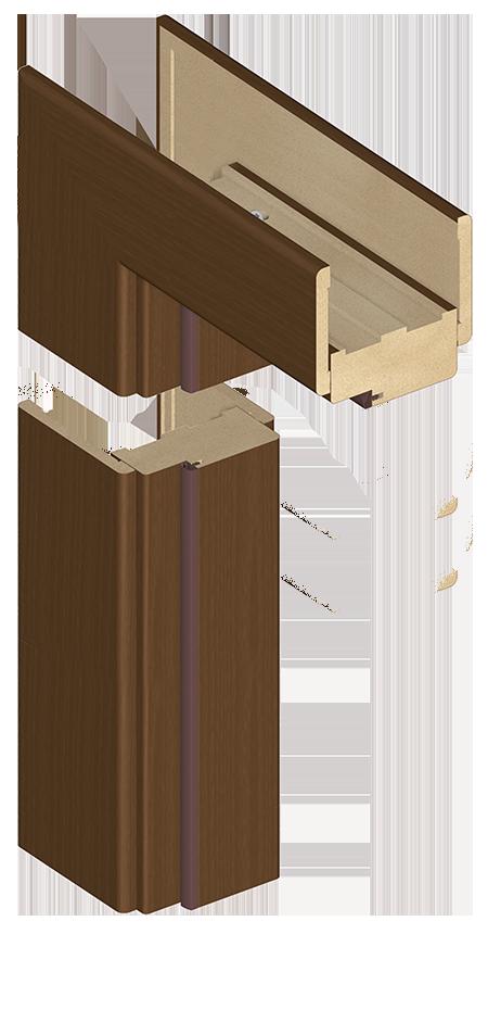 Ościeżnica blokowa OB3 - z listwą opaskową LO7 (80 mm)
