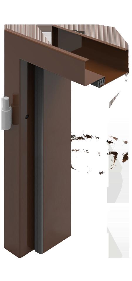 Ościeżnica metalowa - kątowa duża FD11 / FD12