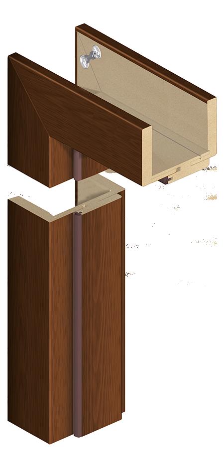 Ościeżnica ORS10 z opaską 80 mm - do drzwi modułowych bezprzylgowych