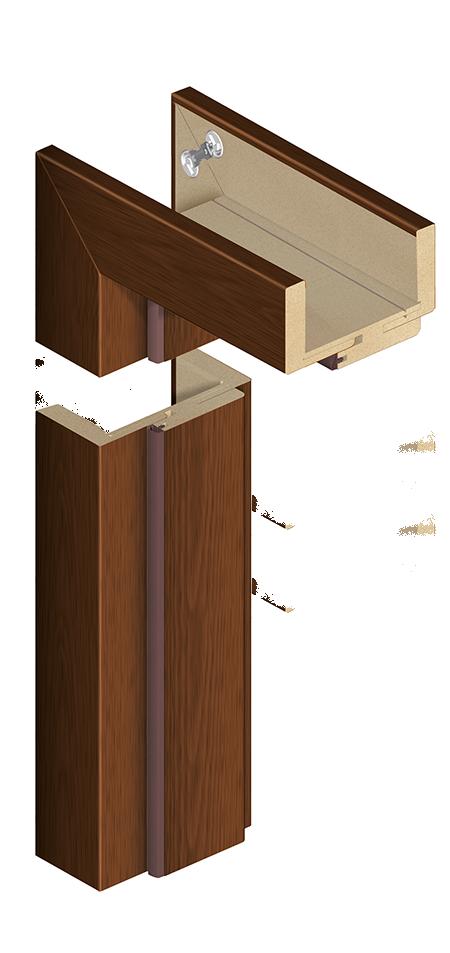 Ościeżnica ORS7 z opaską 60 mm - do drzwi modułowych bezprzylgowych
