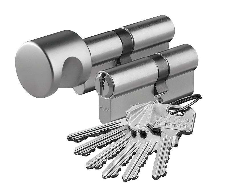 wkładka patentowa na klucz i z gałką WC